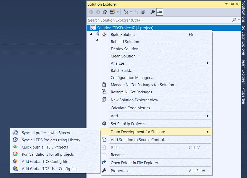 Chapter 4 - Sitecore TDS Documentation - Hedgehog